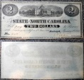 Us Coins - $2 State of North Carolina, Capitol building, medallion 2s