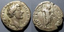 Ancient Coins - Marcus Aurelius, 139-161 AD as Caesar, AR denarius