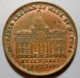 Us Coins - USA Hard Times Token - NY Merchants Exchange