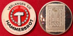 World Coins - Austrian encased postage, Hammerbrot