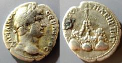 Ancient Coins - Hadrian, 117-138 AD, Cappadocia, Caesarea, AR didrachm