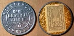 World Coins - Austrian encased postage, Hans Kodrnja Wien