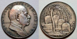 World Coins - German silver medal - Goetz - Dr. Gustav Streseman, 1929