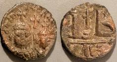 Ancient Coins - Heraclius, 610-641 AD, AE dodecanummium, Alexandria