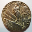 "World Coins - German medal - Goetz ""In the Flush of Victory"" - 59mm"