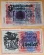 World Coins - German linen notgeld, 1/4 dollar, 1,05 goldmark