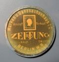 World Coins - German encased postage - 10 pfennig - Berlin Zeitung