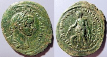 Ancient Coins - Gordian III, 238-244 AD, AE30 Nicopolis, Moesia Inferior - Nemesis reverse