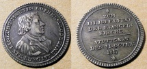 World Coins - Germany, 1817 Stuttgart - Martin Luther - 300 Anniversary of the Reformation, ducat