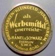 World Coins - German encased postage - Berlin, Hanel & Schwartz - 5 pfennig