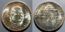 Us Coins - Booker T Washington commemorative half dollar - 1946-S, uncirculated