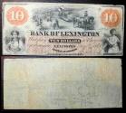 Us Coins - North Carolina Obsolete bank note - Bank of Lexington - May 8, 1860 - 10 dollars