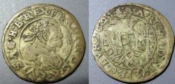 World Coins - Austria, 1625, 3 Kreuzer - Ferdinand II, Habsburg