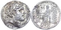 Ancient Coins - Seleucid Kings, Alexander I Balas AR Tetradrachm. Antioch mint.