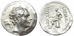 Ancient Coins -  SELEUKID EMPIRE. Antiochos IV Epiphanes. 175-164 BC. AR Tetradrachm. Seleukeia on the Tigris mint.