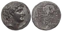Ancient Coins - SELEUKID EMPIRE. Antiochos XI Epiphanes Philadelphos. Circa 94/3 BC. AR Tetradrachm (27mm, 15.60g, 12h) . Antioch on the Orontes mint. 1 of 5 in Private Hands.