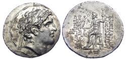 Ancient Coins -  SELEUKID KINGS of SYRIA. Alexander I Balas. 152-145 BC. AR Tetradrachm.