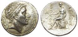 Ancient Coins -  SELEUCID KINGS of SYRIA. Antiochos II Theos. 261-246 BC. AR Tetradrachm. Antioch mint.
