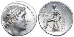 "Ancient Coins - SELEUKID KINGS of SYRIA. Antiochos III, ""the Great."" 223-187 BC. AR Tetradrachm (29mm, 17.13 gm). Antioch mint. Struck circa 223-210 BC."