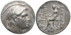 Ancient Coins - SELEUCID KINGS of SYRIA. Demetrios I Soter. 162-150 BC. AR Tetradrachm.