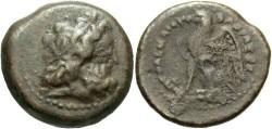 Ancient Coins - PTOLEMAIC KINGS of EGYPT. Ptolemy II Philadelphos. 285-246 BC. Æ Chalkon. Rare.