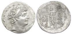 Ancient Coins -   SELEUKID EMPIRE. Antiochos VIII Epiphanes (Grypos). 121/0-97/6 BC. AR Tetradrachm. Rare EP mint.