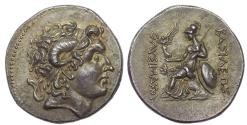 Ancient Coins - KINGS of THRACE. Lysimachos. 323-281 BC. AR Tetradrachm (31mm, 16.58 gm, 12h). Lysimachia mint. Pedigreed. Superb.