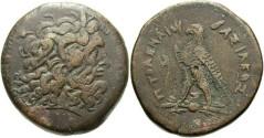 Ancient Coins - Egypt, Ptolemaic Kings. Ptolemy III Euergetes. 246-222 BC. Æ Drachm (42 mm, 69.45 g, 11h). Alexandreia mint. Struck circa 246-243 BC.
