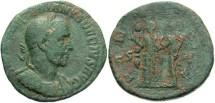 Ancient Coins - Imperial Rome. Trajan Decius. 249-251 AD.AE Sestertius (16.25 gm, 29 mm).