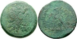 Ancient Coins - Egypt, Ptolemaic Kings. Ptolemy III Euergetes. 246-222 BC. Æ Drachm (43mm, 66.49 g, 12h). Alexandreia mint. Struck circa 246-243 BC.