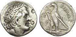 Ancient Coins - PTOLEMAIC KINGS of EGYPT. Ptolemy I Soter. 305/4-282 BC. AR Tetradrachm (27 mm, 14.16 gm, 12h). Alexandreia mint, Delta Engraver.