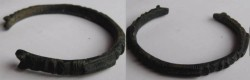 Ancient Coins - CELTIC BRONZE BRACELET.Very rare and beautiful!!