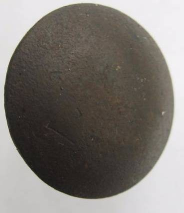 Ancient Coins - BYZANTINE MILITARY BRONZE BUTTON