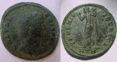 Ancient Coins - Galeria Valeria, Wife of Galerius.Venus, AE Follis