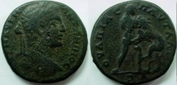 Ancient Coins - Caracalla AE30 of Pautalia. Naked Hercules l.,strangling  Naeman lion