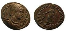 Ancient Coins - Helena AE Follis. FL HELENA AVGVSTA,  mother of the  Emperor Constantine the Great / Securitas standing