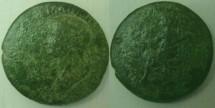 Ancient Coins - Agrippina Jr. Æ Dupondius,  Balkan Mint, c. 54 AD.Extremely rare.