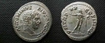 Ancient Coins - Caracalla Denarius. 217 AD, last year of reign.UNPUBLISHED.RRRR