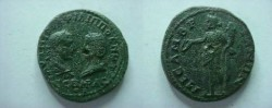 Ancient Coins - Philip I & Otacilia Severa AE26 of Messembria, Thrace.  Concordia standing left with patera & cornucopiae.
