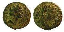 Ancient Coins - ASIA MINOR, Uncertain Caesarea. Claudius.Tyche right