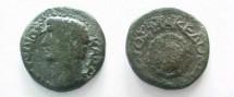 Ancient Coins - Claudius AE25 of Macedonia. Macedonian shield.