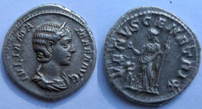 Ancient Coins - JULIA MAMAEA.AR DENARIUS.VENVS GENETRIX