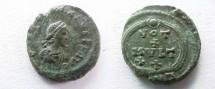 Ancient Coins - Valentinian II AE4.15mm.VOT X MVLT XX in wreath, ANT below.