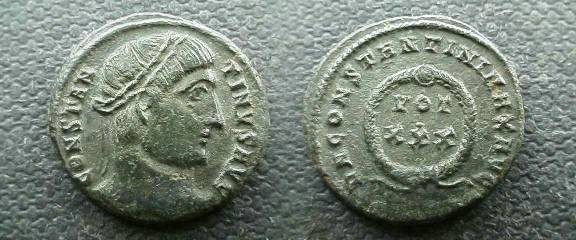 Ancient Coins - Constantine the Great AE3.