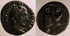 Ancient Coins - Philip II AE17 of Deultum, Thrace.  C F P D, head of bull right.UNPUBLISHED