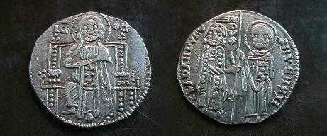 World Coins -  Venice, AR Grosso of Giovanni Dandolo(?) 1280-1289 AD.  VF.