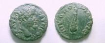 Ancient Coins - Septimius Severus Æ 17mm of Moesia Inferior, Nikopolis.  Club of Hercules.