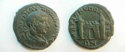 Ancient Coins - Gordian III AE Pentassarion of Hadrianopolis in Thrace.