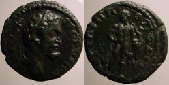 Ancient Coins - Septimius Severus AE19 of Philippopolis, Thrace. Hercules holding his son Telephos. RRR