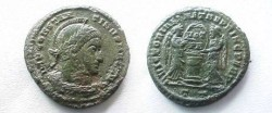 Ancient Coins - Constantine the Great AE3. Victories and Altar.
